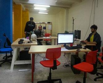 La scrivania di Giuseppe Marini