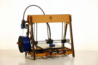 La stampante 3D di Kentstrapper