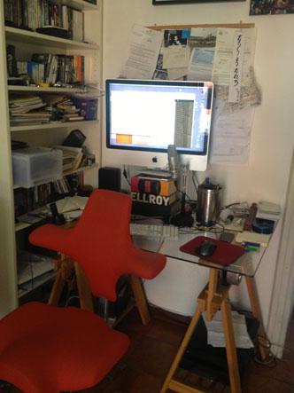 La scrivania di Matteo Bordone