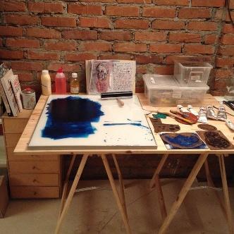 La scrivania di Ninamasina